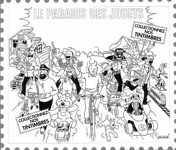 Tintin Paradis Jouet