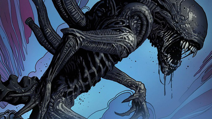 Aliens Greg Land Cover