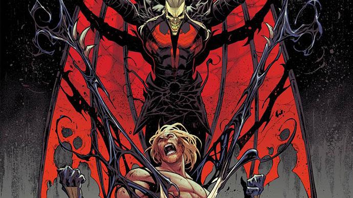 Venom King in Black Knull Veneno