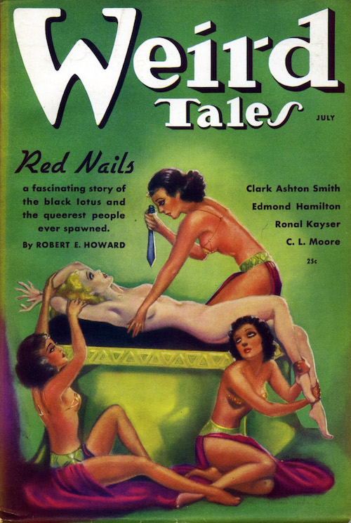 Portada de «Weird Tales»