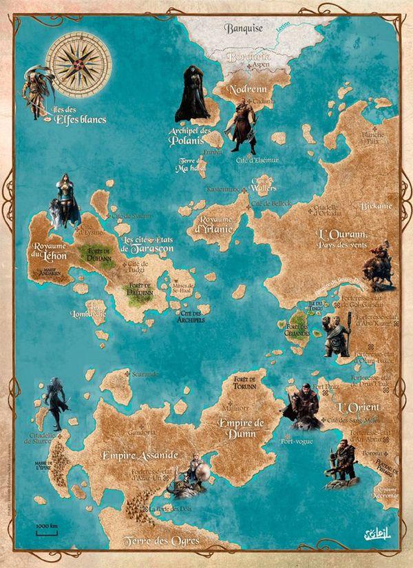 Mapa Elfos