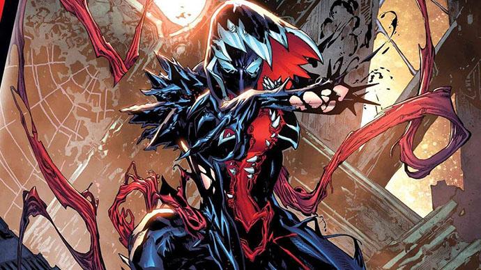 King in Black Gwenom Vs Carnage Spider-Gwen Ghost-Spider