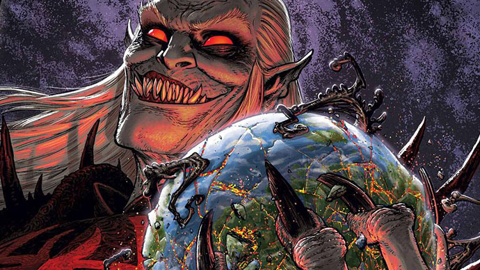 Knull King in Black Planet of the Symbiotes