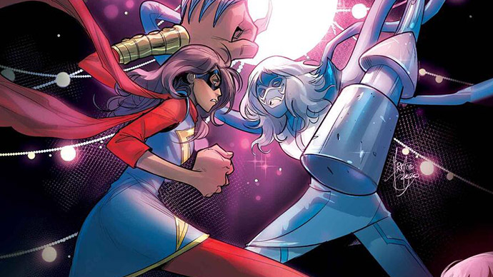 Magnificent Ms. Marvel Kamala Khan