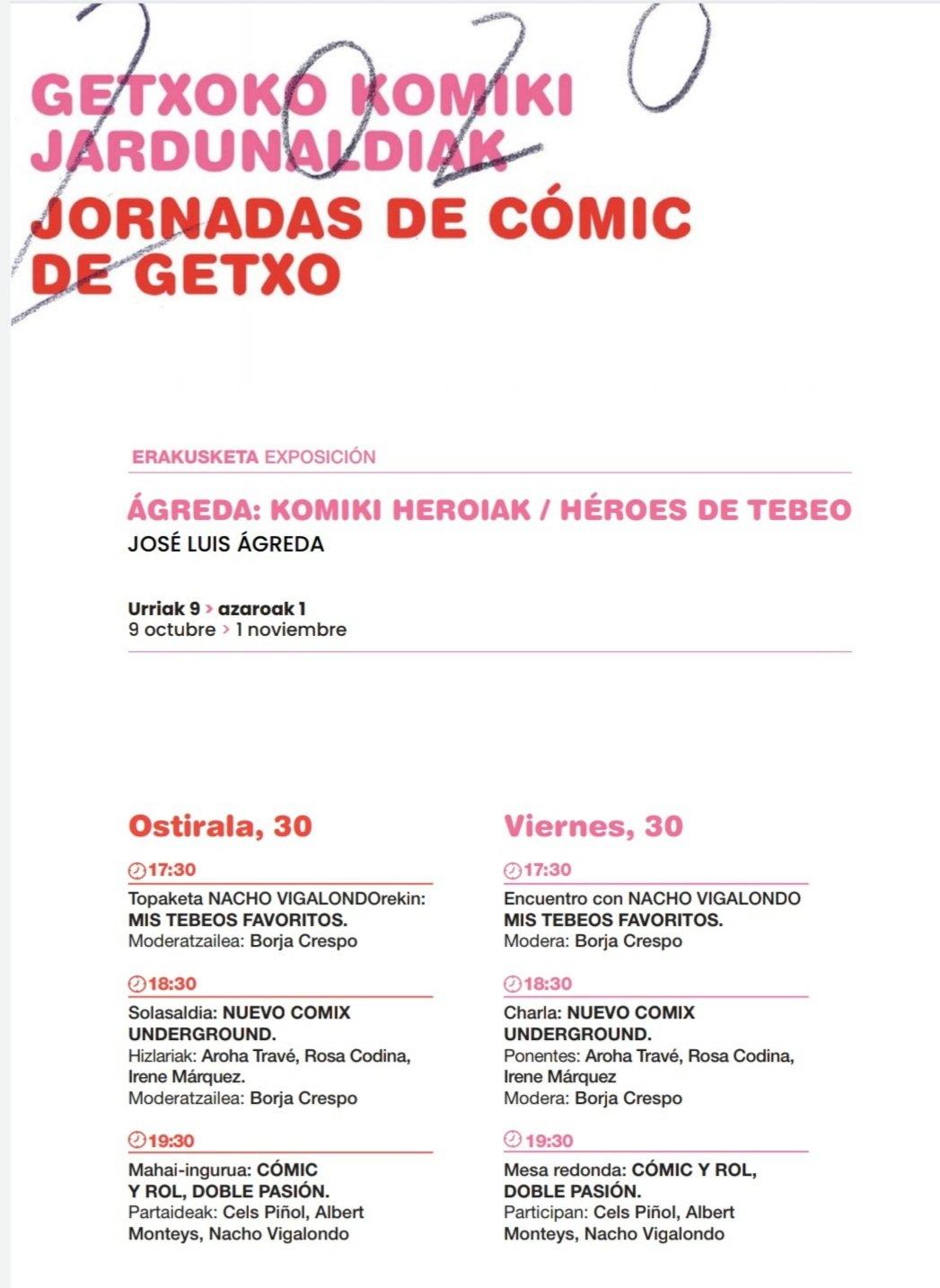 jornadas de cómic de Getxo