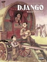 Portada Django Mano de fuego Salva Rubio Ricard Efa
