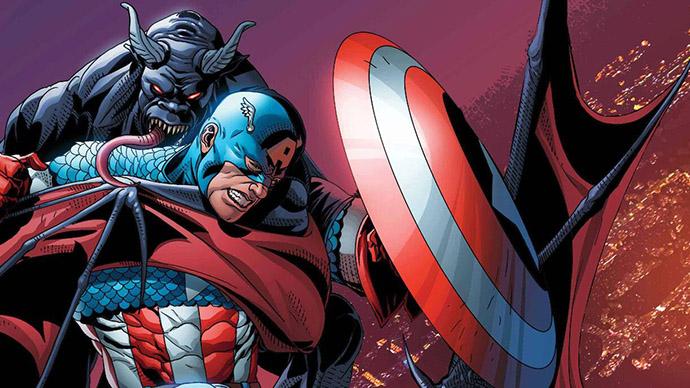 King in Black Captain America