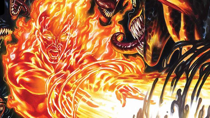 King in Black Fantastic Four Cuatro Fantásticos