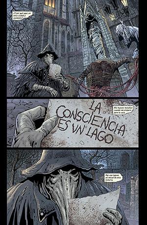 Bloodborne 3: Canción de cuervos, de Aleš Kot y Piotr