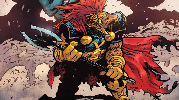 Beta Ray Bill Boletín Marvel Bill Rayos Beta