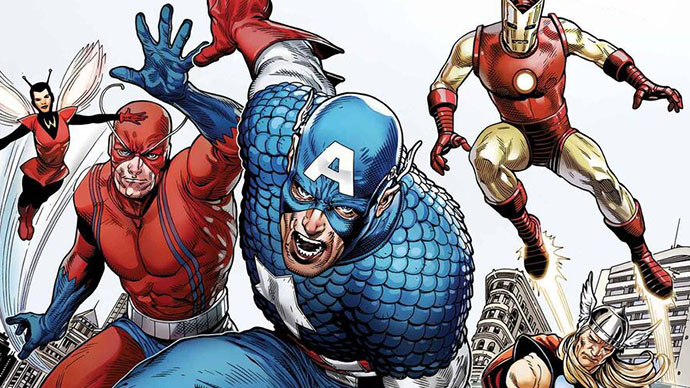 Captain America Tribute Steve McNiven Cover