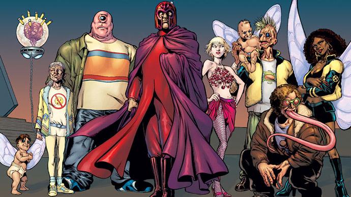 Nuevos X-Men Grant Morrison