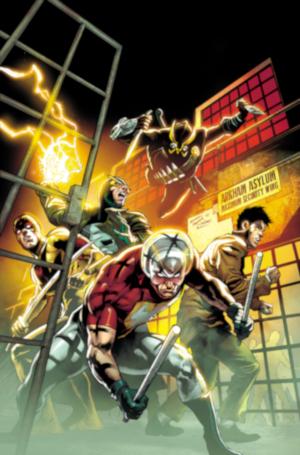 Equipos creativos DC Comics