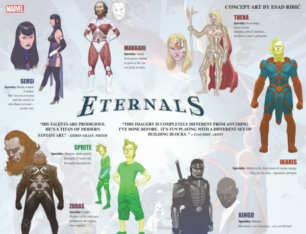 Eternals Eternos Esad Ribic