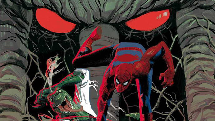 Spider-Man Curse of the Man-Thing Spiderman Hombre-Cosa