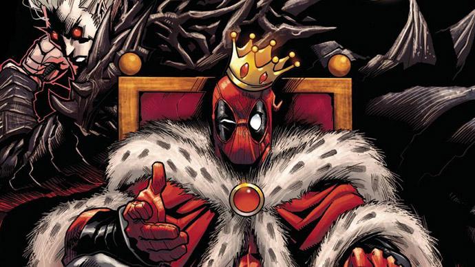 Deadpool Masacre King in Black