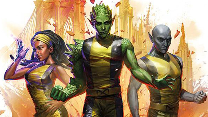 Xavier's Intitute First Team Novel