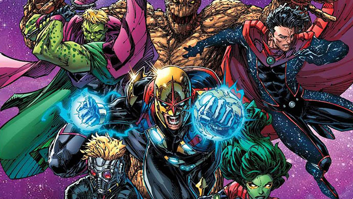 Guardians of the Galaxy Wiccan Hulkling