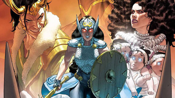 The Mighty Valkyries Jane Foster