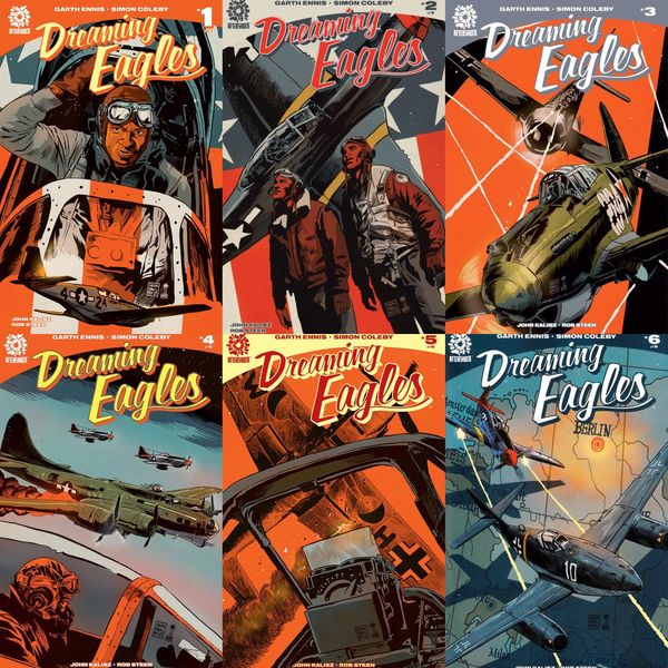 Dreaming Eagles portadas