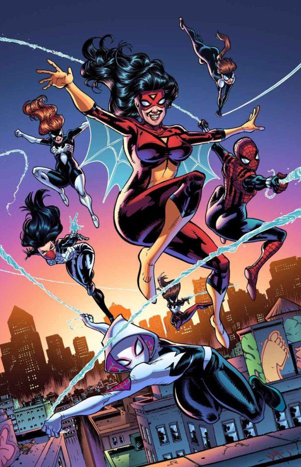 Spiderwoman Spidergirl Spider-Gwen Seda
