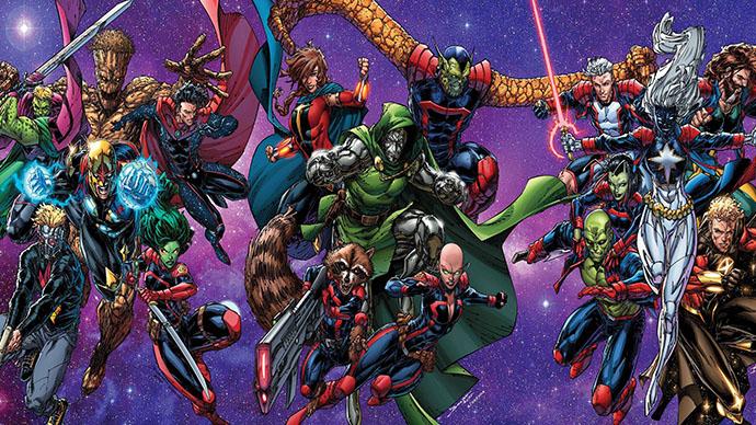 Guardians of the Galaxy Guardianes de la Galaxia nuevo equipo