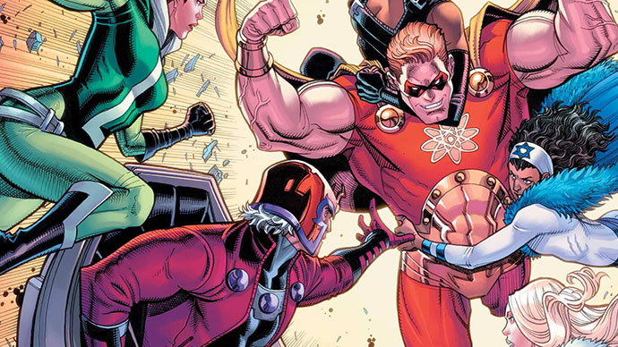 Heroes Reborn Magneto and the Mutant Force