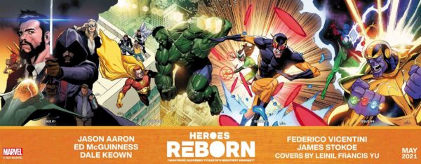 Heroes Reborn 2021 Connected Covers