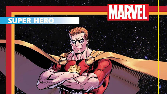Hyperion Heroes Reborn trading card Mark Bagley
