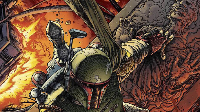 War of the Bounty Hunters Star Wars Boba Fett