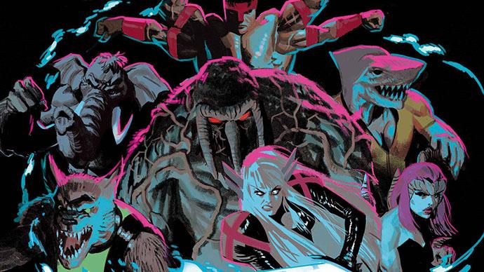 X-Men Curse of the Man-Thing