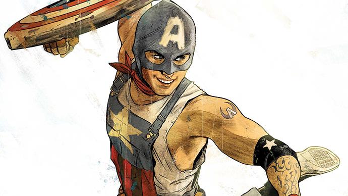 Captain America of the Railways Aaron Fischer