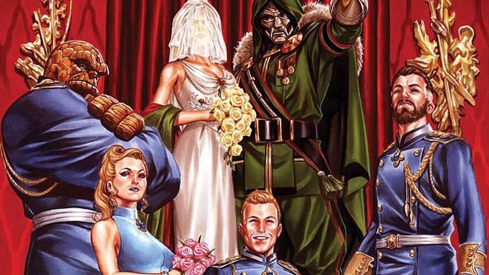 Fantastic Four Bride of Doom
