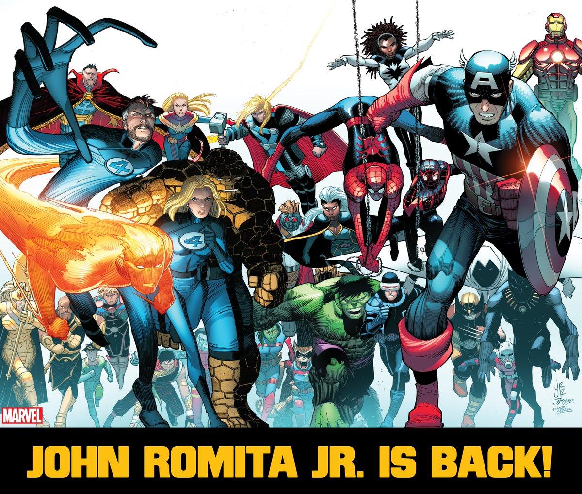 john romita jr vuelve a marvel comics