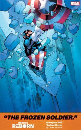 Avengers Heroes Reborn Carlos Pacheco