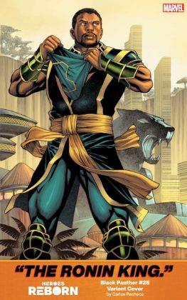 Black Panther Heroes Reborn Carlos Pacheco