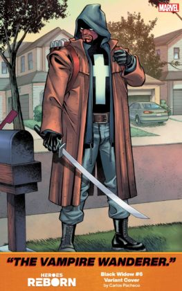 Black Widow Heroes Reborn Carlos Pacheco
