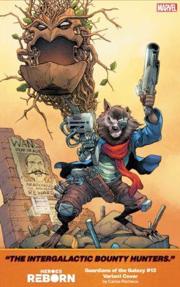 Guardians of the Galaxy Heroes Reborn Carlos Pacheco