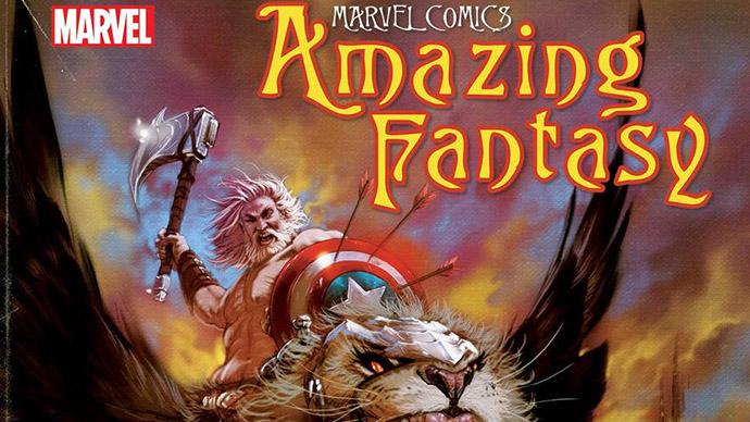 Amazing Fantasy Kaare Andrews