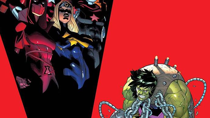 Avengers World War She-Hulk Jason Aaron