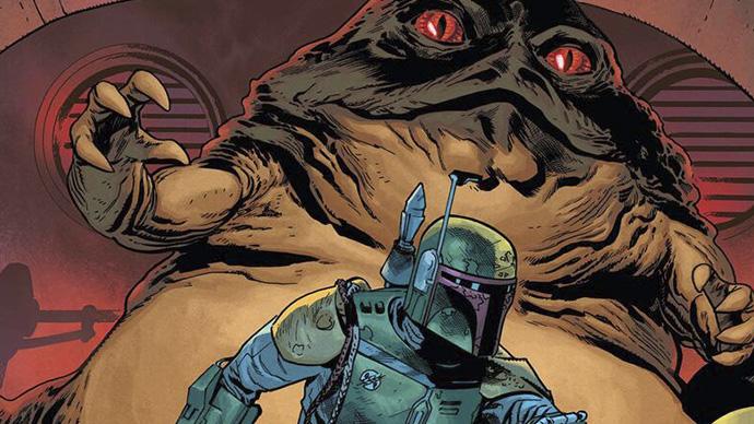 Star Wars War of the Bounty Hunters Jabba the Hutt