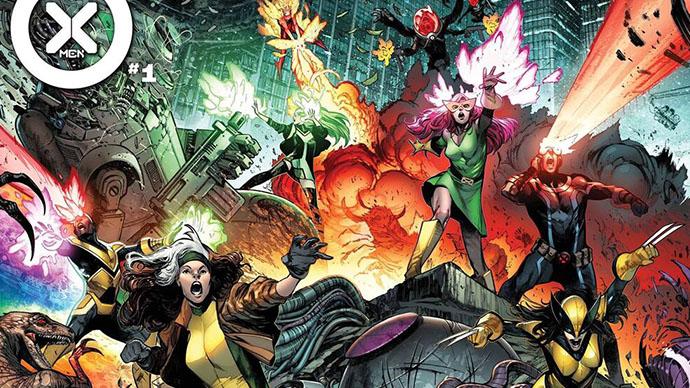 X-Men Pepe Larraz Marte Gracia