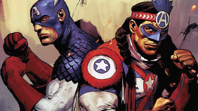 Joe Gomez Kickapoo Tribe The United States of Captain America