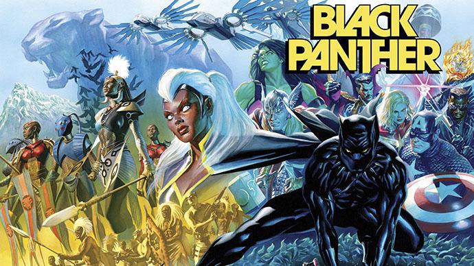 Black Panther Pantera Negra Alex Ross