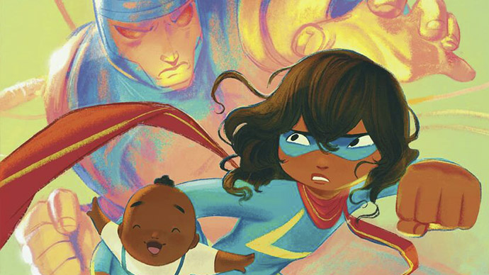 Ms Marvel Stretched Thin Scholastic