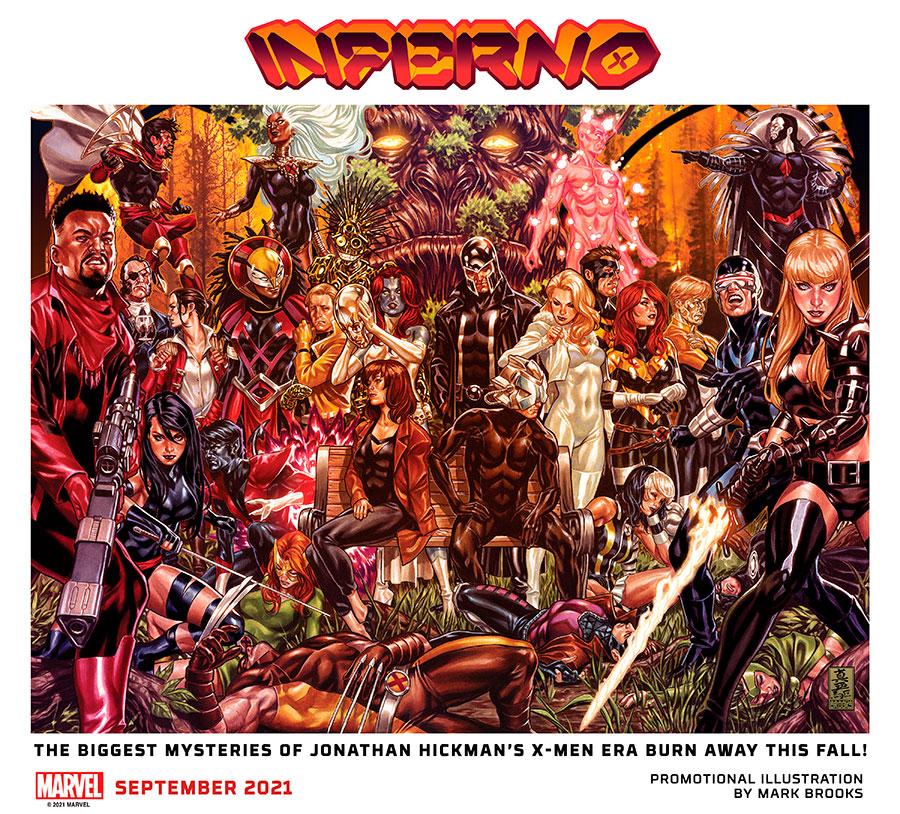 Marvel Comics anuncia Inferno