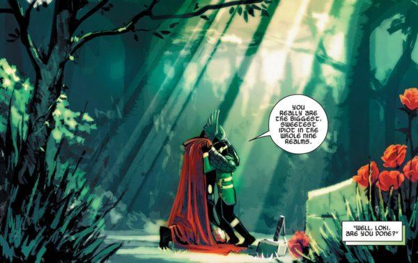 Kid Loki Thor
