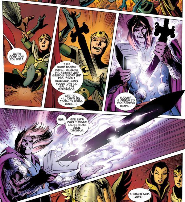Loki Thor Everything Burns