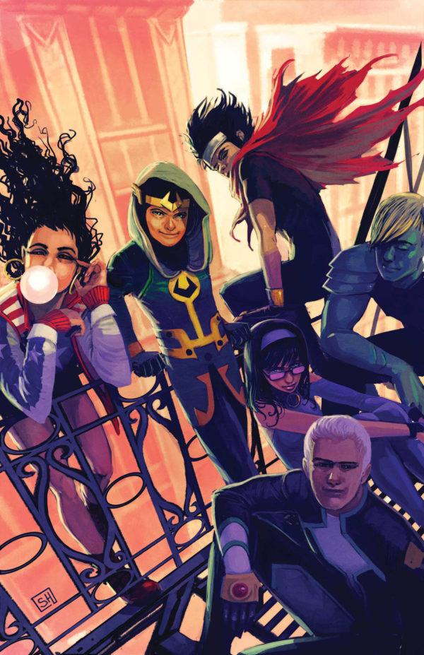 Young Avengers Jóvenes Vengadores