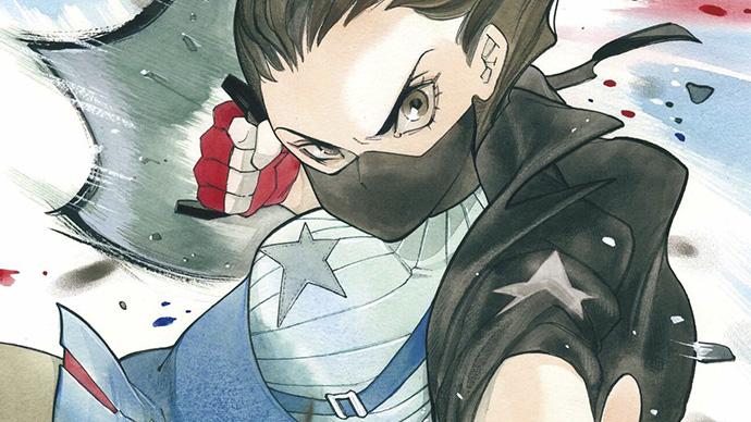 Ari Agbayani United States of Captain America Peach Momoko